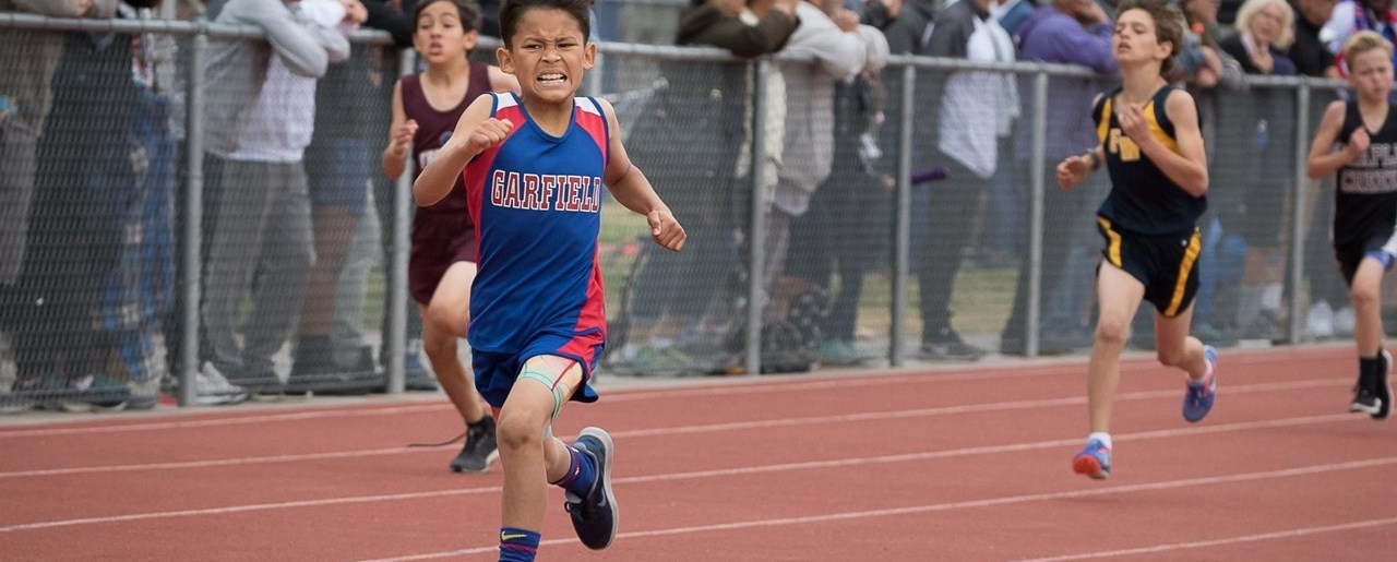Garfield track race
