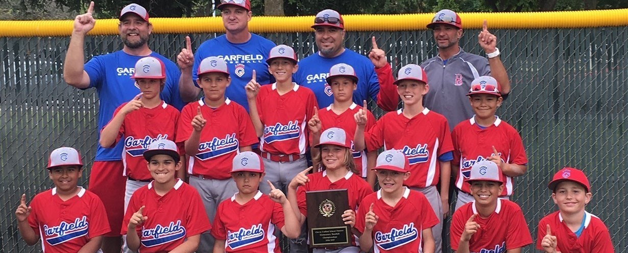 Baseball team members