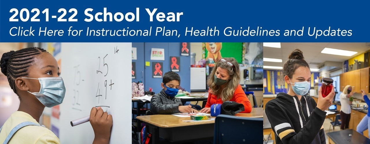 21-22 School Year CUSD Link to Instruction Plan, Health Guidelines & Updates
